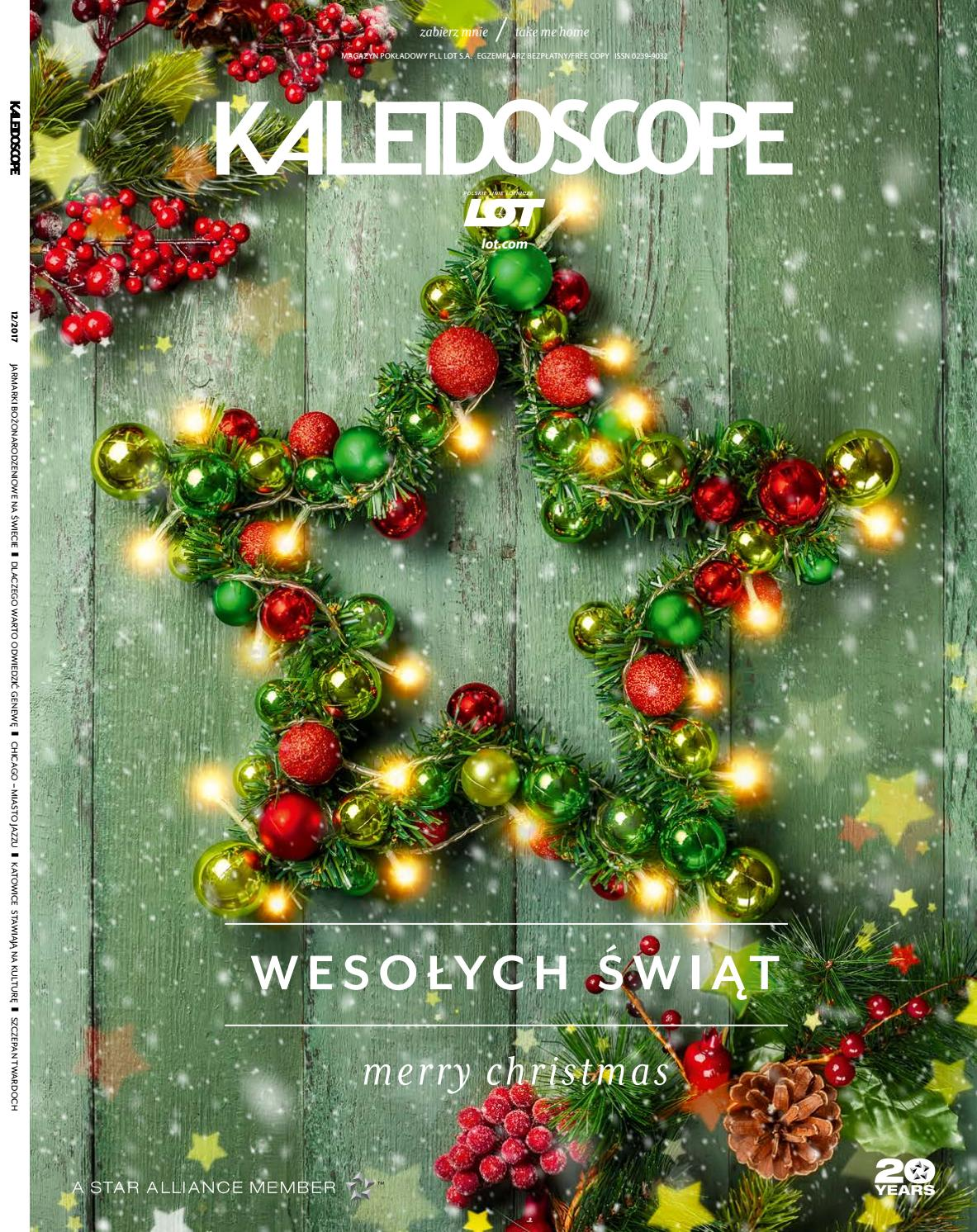 e55bcc6c09831 Kaleidoscope December 2017 by LOT Polish Airlines - issuu