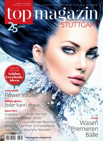 Top Magazin Stuttgart Winter 2017 By Top Magazin   Issuu