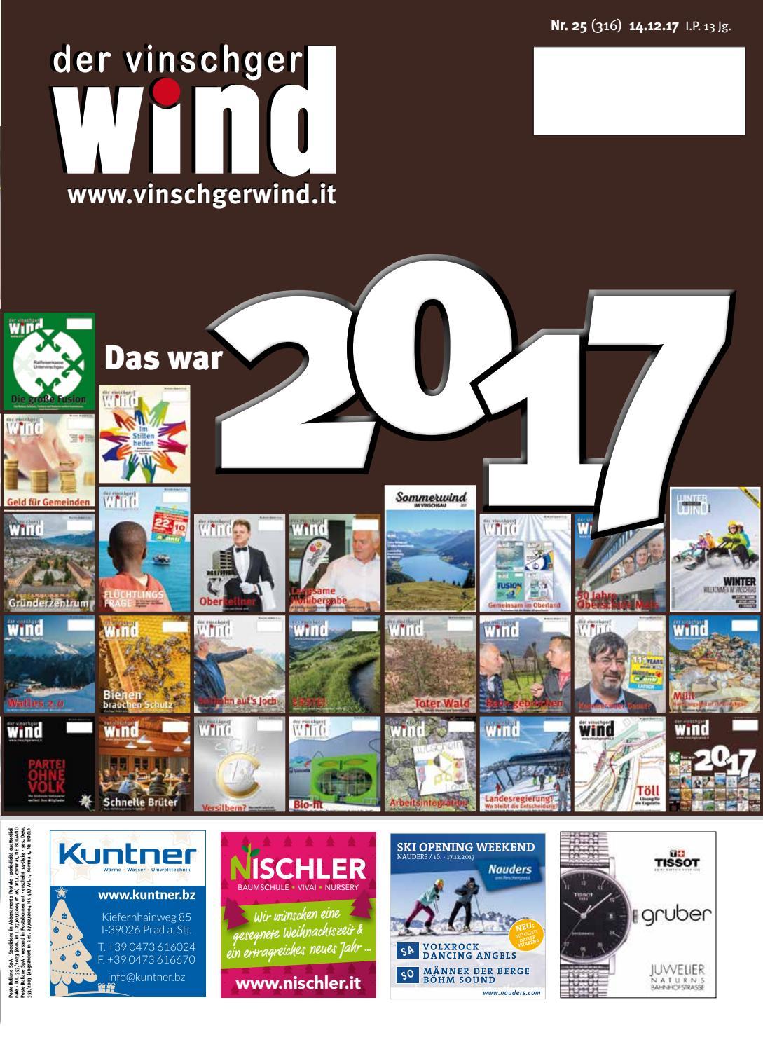 Zeitung Vinschgerwind ausgabe 25-17 Vinschgau Südtirol by ...