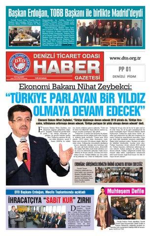 Denizli Ticaret Odasi Haber Gazetesi 101 Sayi By Denizli Ticaret