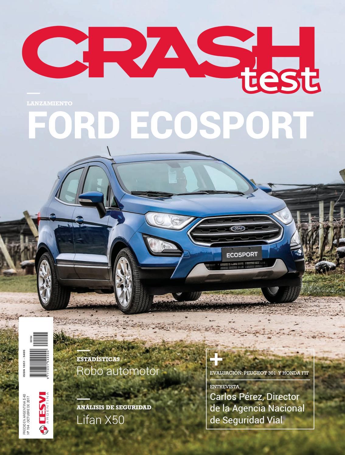 Revista Crash Test 194 by Cesvi Argentina - issuu