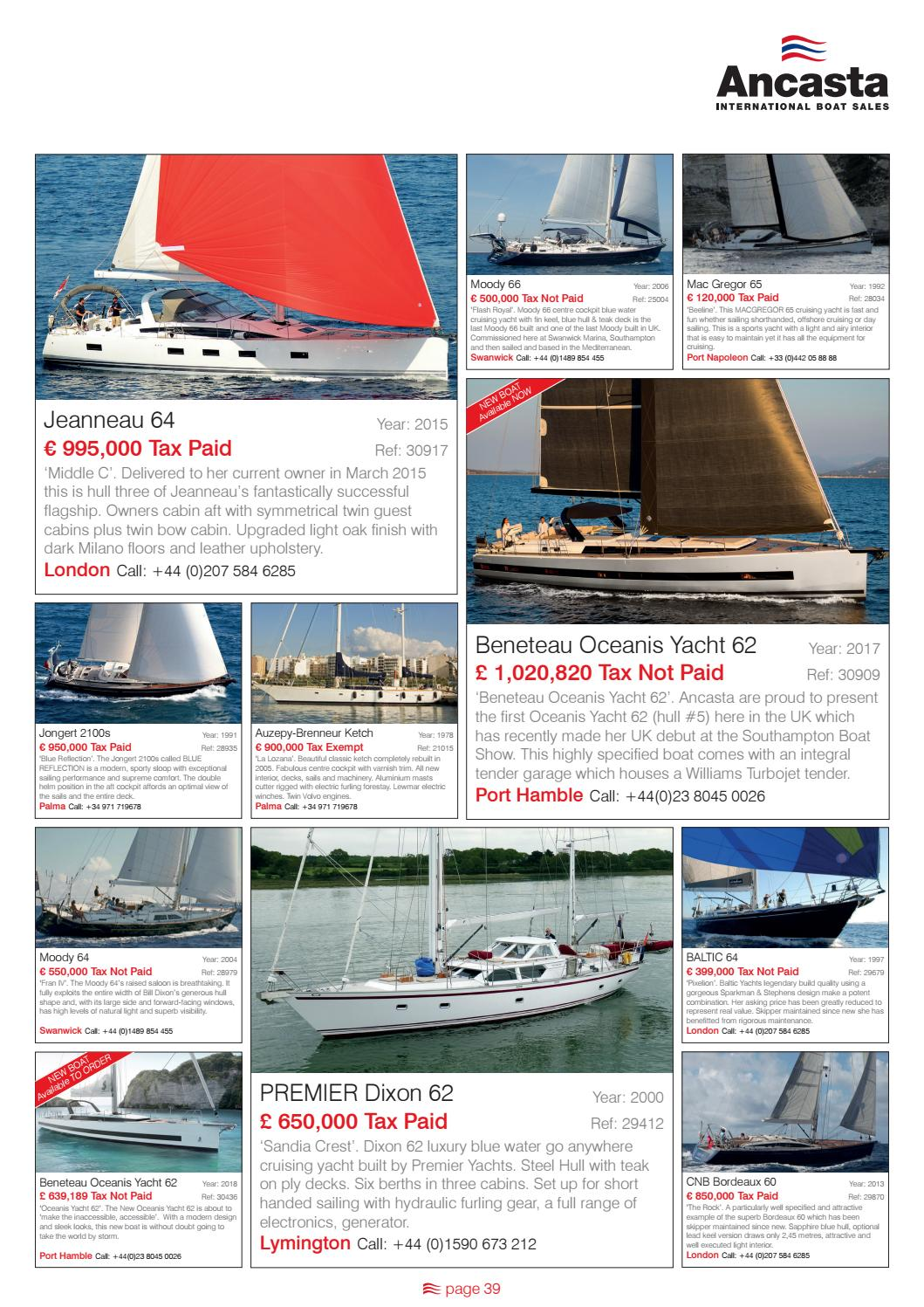 ab16401723 18 ancasta winter collection issuu by Ancasta International Boat Sales -  issuu