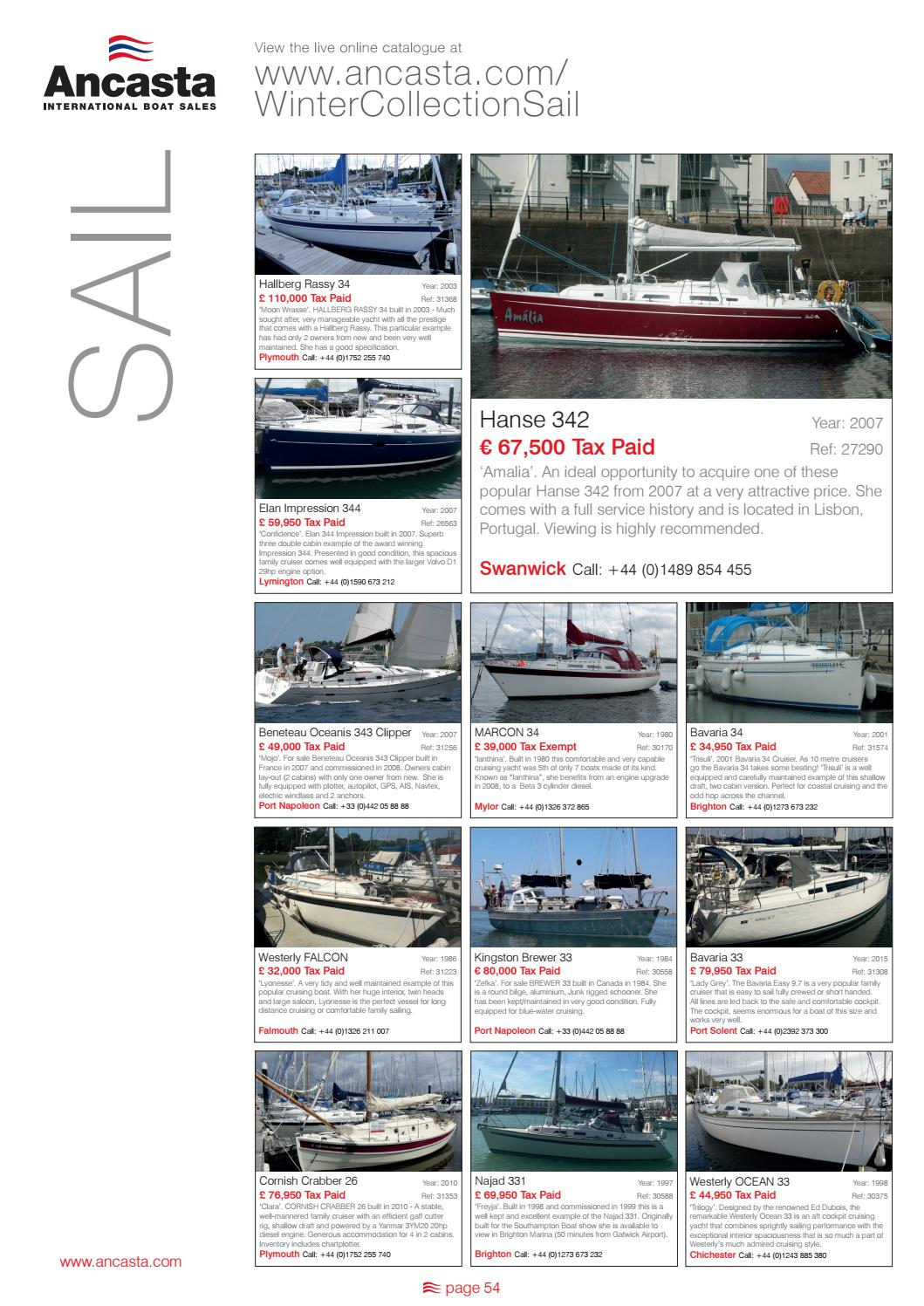 18 ancasta winter collection issuu by Ancasta International Boat