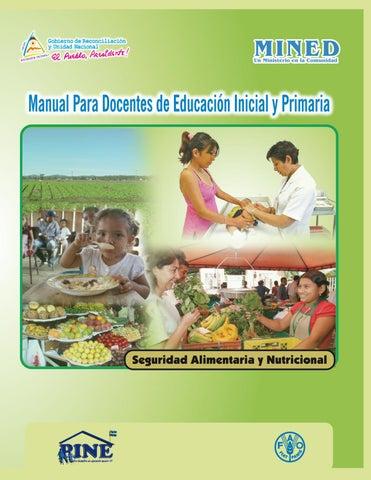 plan de enseñanza de vitalidad para una alimentación adecuada