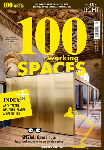 100workingspaces2017 By 100 Deutsche Hauser Issuu