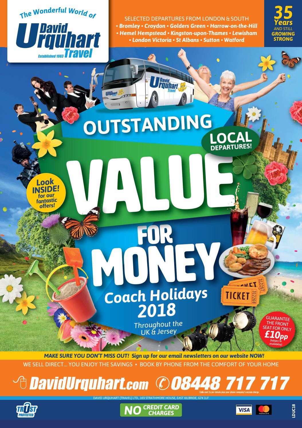 Coach Holidays 2018   London & South by David Urquhart ...