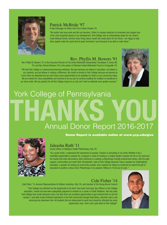 2016 17 Annual Donor Report By York College Of Pa Issuu Jus Mangga Segar Sabrina Casava Ui