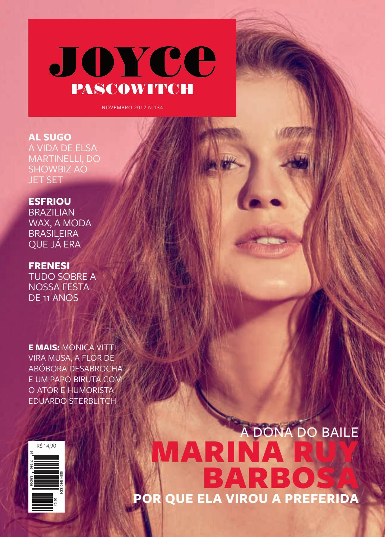 Aline Moraes Toda Nua revista joyce pascowitch 134 novembro 2017revista joyce