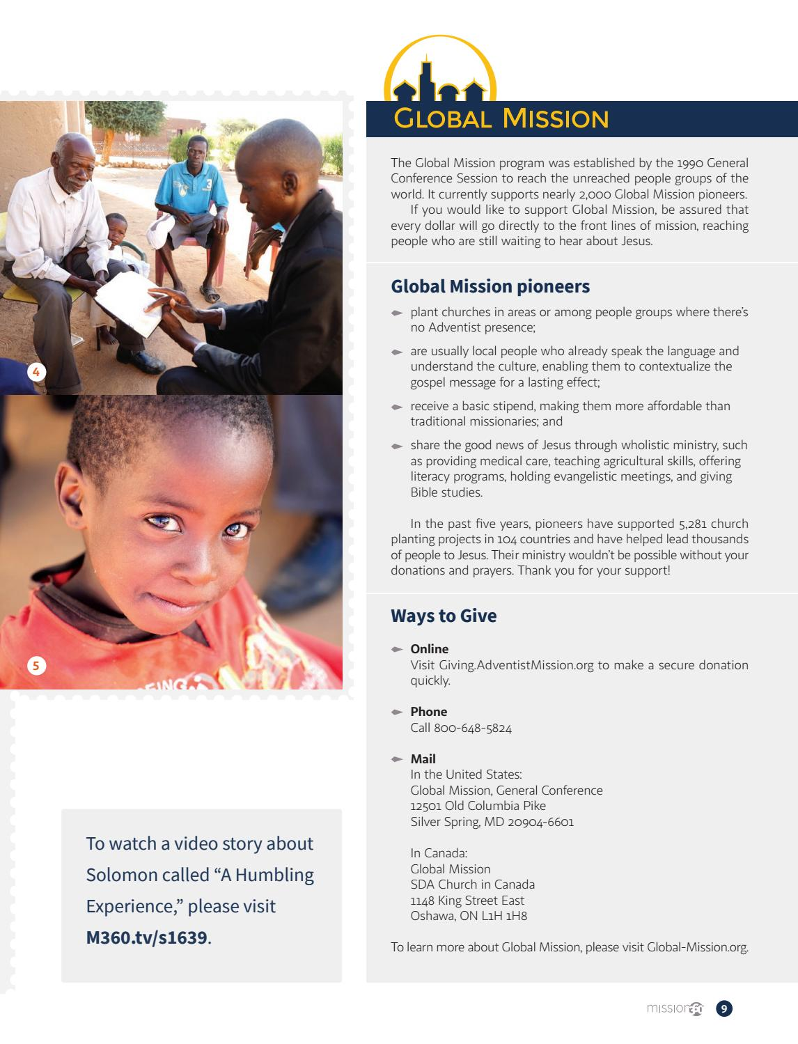 United World Mission Contact