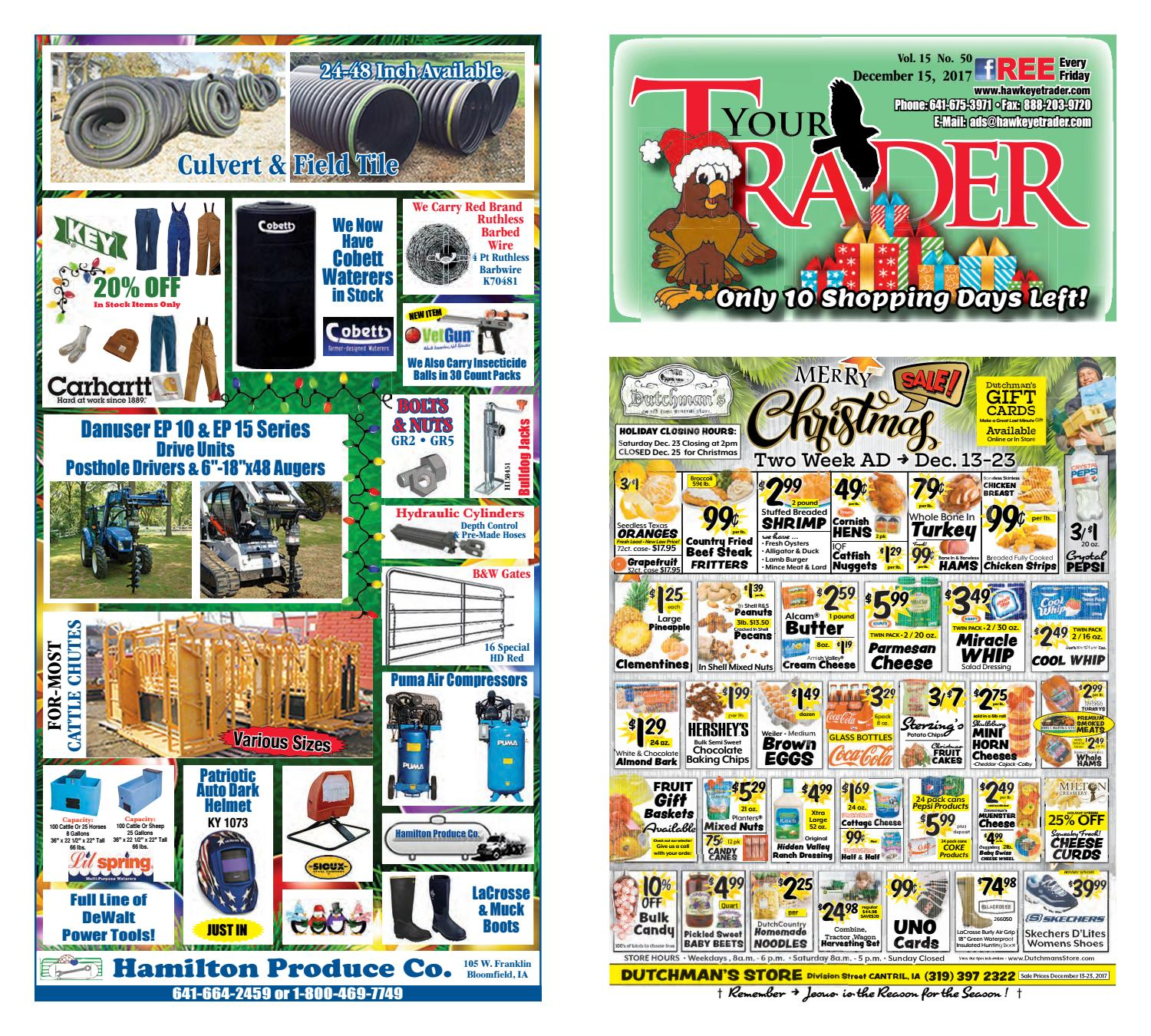 Hawkeyetrader 121517 By Hawkeye Trader Issuu 1988 Kiefer Stock Trailer Wiring Diagram