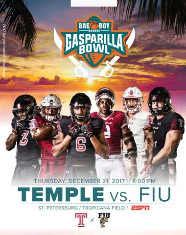 adbf04010f7 2017 Temple Football Bowl Guide by Temple Athletics - issuu