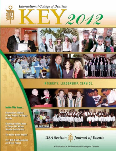 Key 2012 By International College Of Dentists Usa Section Issuu