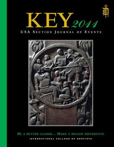 key 2011 by international college of dentists usa section issuu