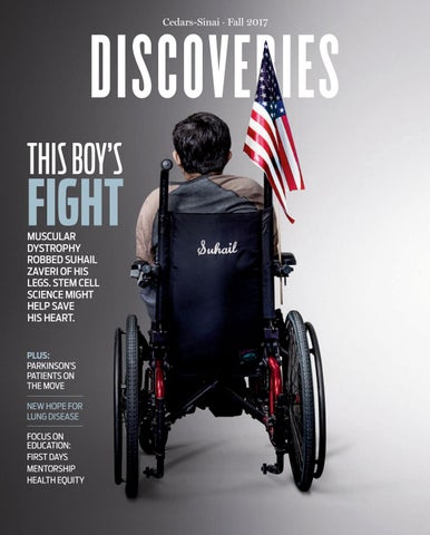 Discoveries magazine Fall 2017 by Cedars-Sinai Discoveries