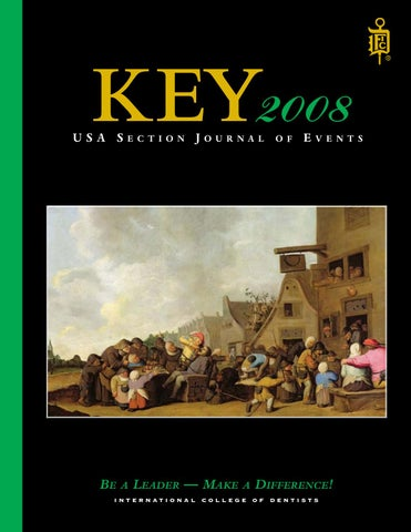 KEY 2008 by International College of Dentists USA Section