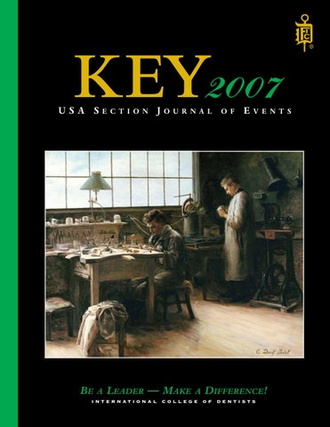 Key 2007 By International College Of Dentists Usa Section Issuu