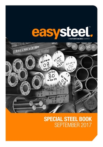 Easysteel Special Steel Book September 2017 by Fletcher
