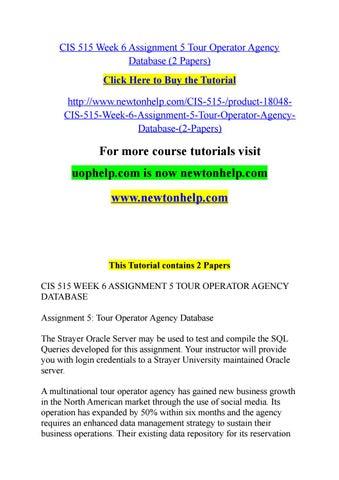 tour operator agency database
