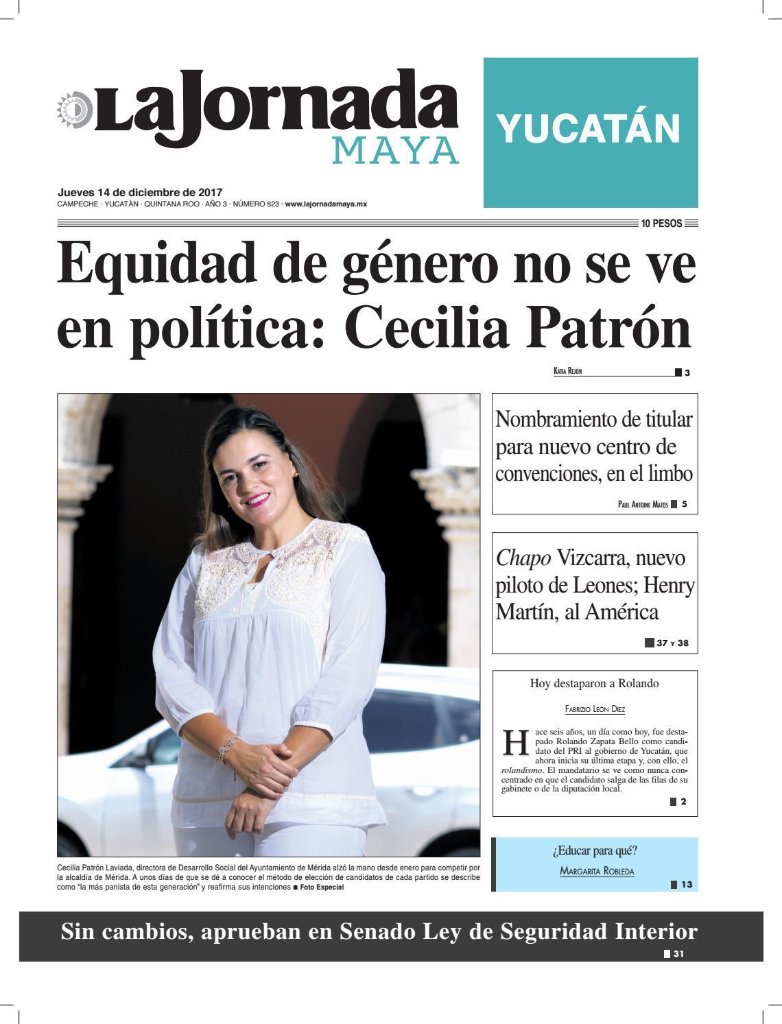 La jornada maya · jueves 14 de diciembre de 2017 by La Jornada Maya - issuu 5c0975cc0707b