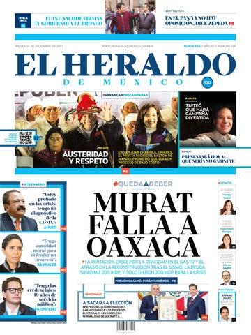 El Heraldo de México 14 de diciembre del 2017 by El Heraldo de ... c3cea4ad1bd