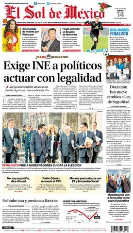 El Sol de México 14 de Diciembre by El Sol de México - issuu 8113c6590ff92