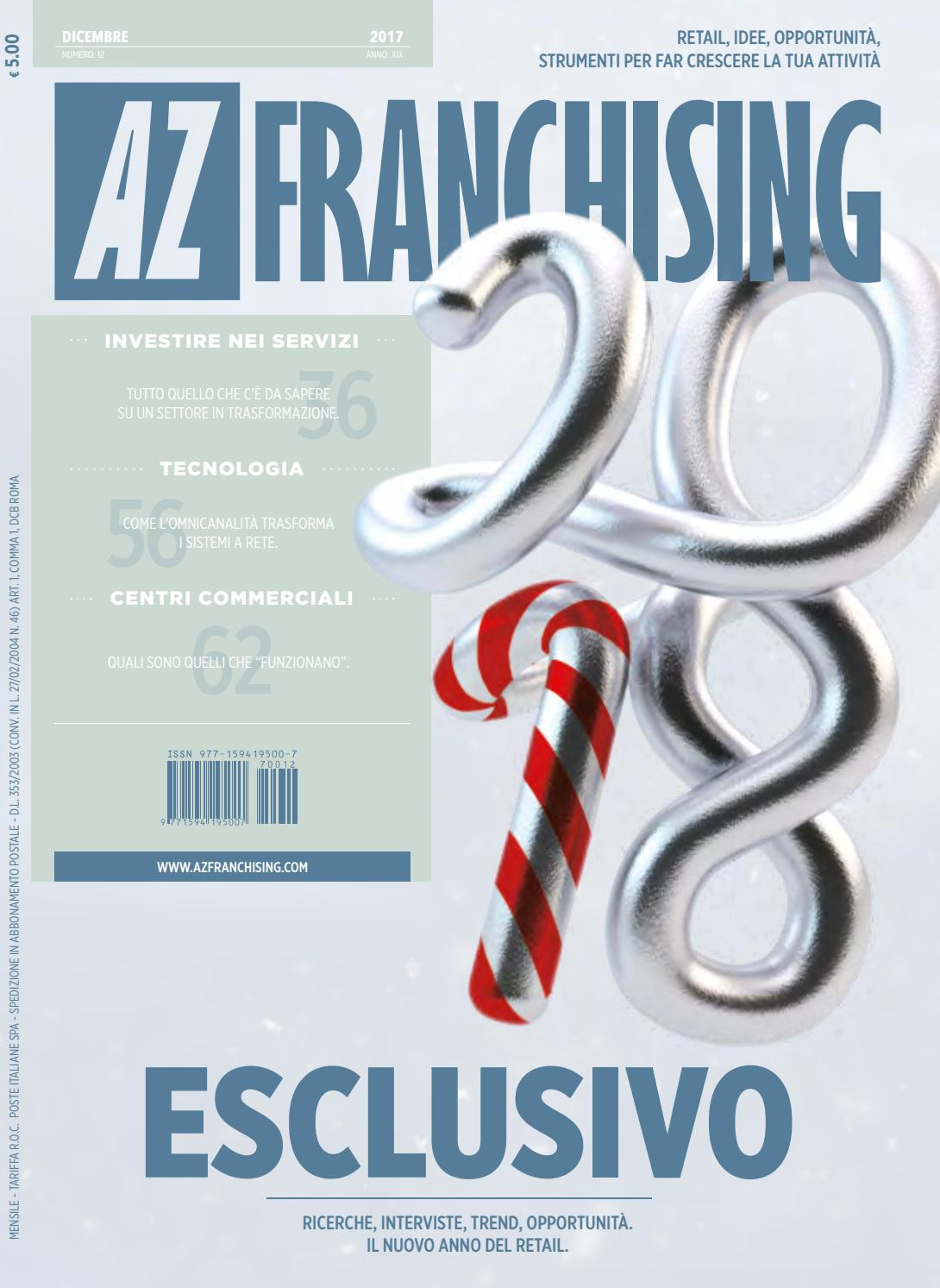 Az franchising dicembre 2017 by AZ FRANCHISING - issuu 40294c88a44