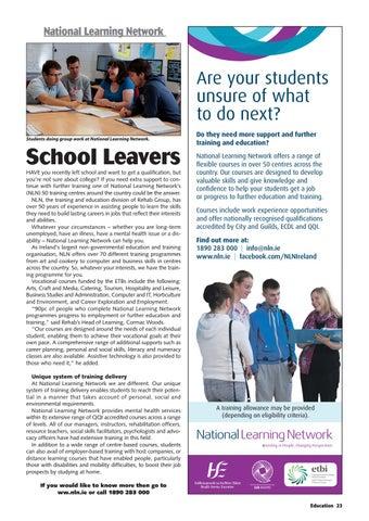 Education Magazine 30-3i by Michael Farrell - issuu