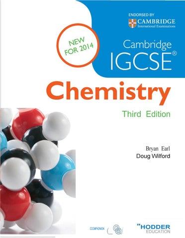 Cambridge IGSE Chemistry - Thirth Edition by Copista - issuu