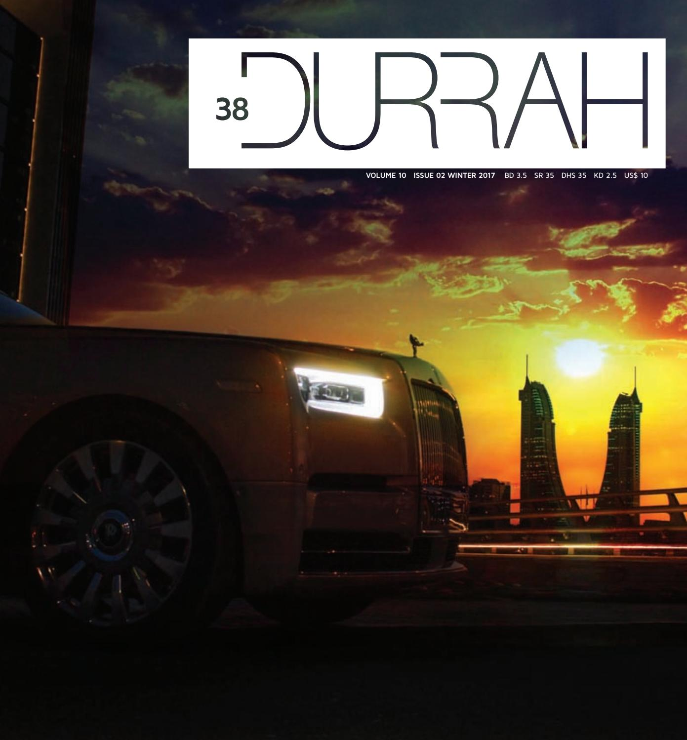 Durrah Issue 38 By Luxury Issuu