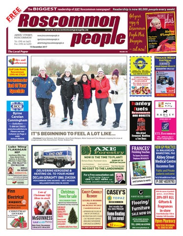 2017 12 16 By Roscommon People Issuu