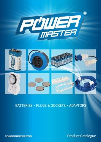 16A Surface-Mountable Socket 110V 3 Pin Plugs /& Sockets 16 Amp Powermaster