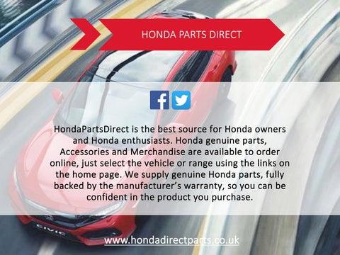 Honda Parts Direct >> Honda Parts Direct By Chris Minton Issuu