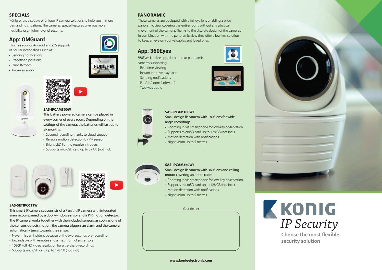 König IP Security (EN) by Nedis - issuu