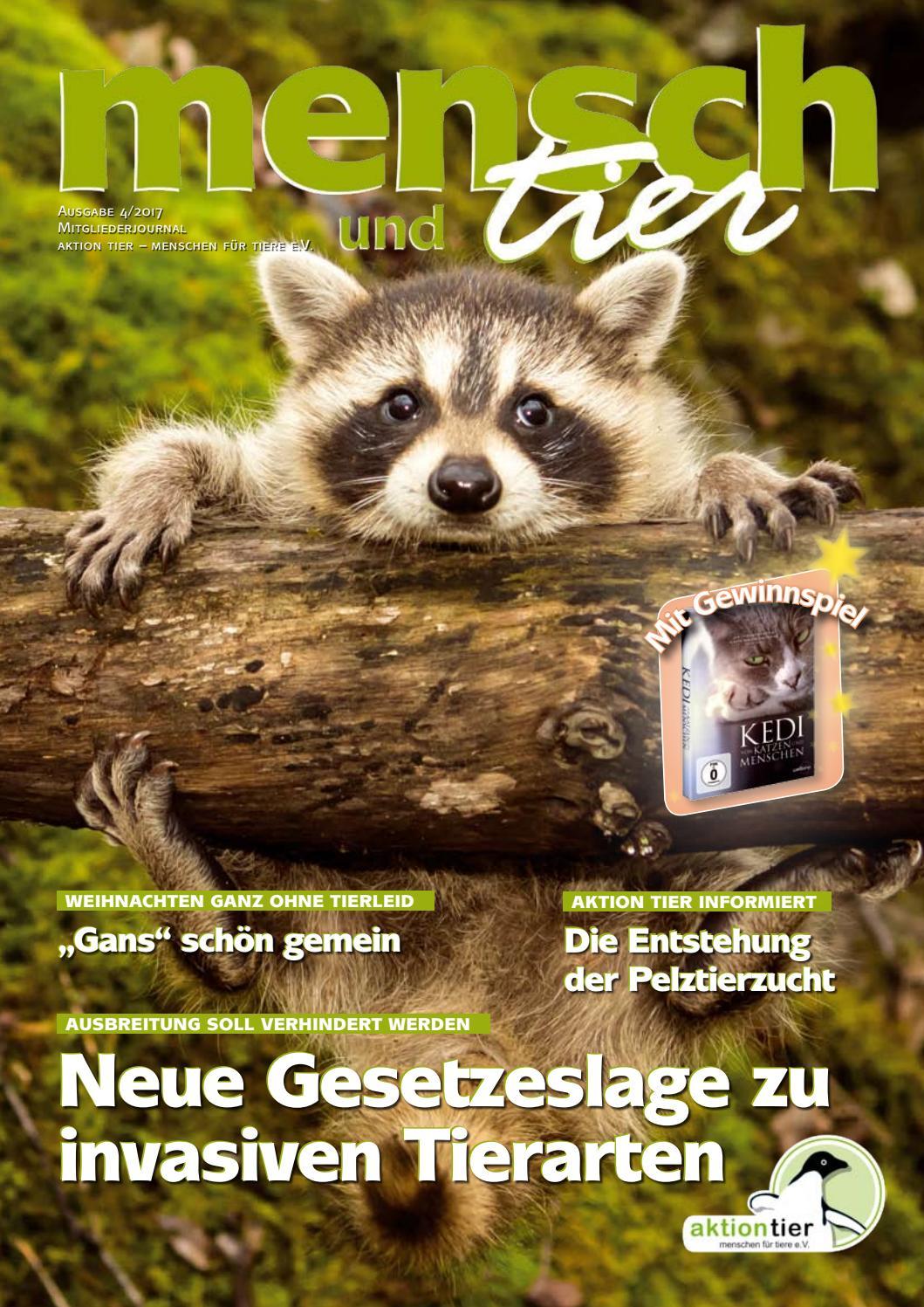 mensch & tier 04/2017 by aktion tier - issuu