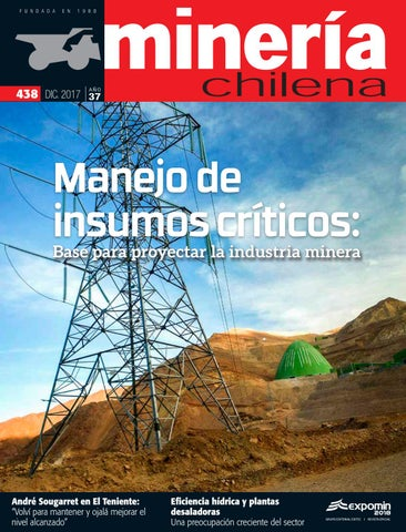 Revista Minera Chilena 438 Diciembre 2017 By Editec Issuu