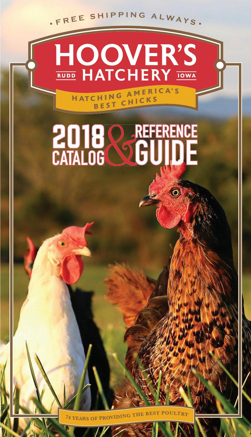 2018 Hoover's Hatchery Catalog & Reference Guide by Alicia