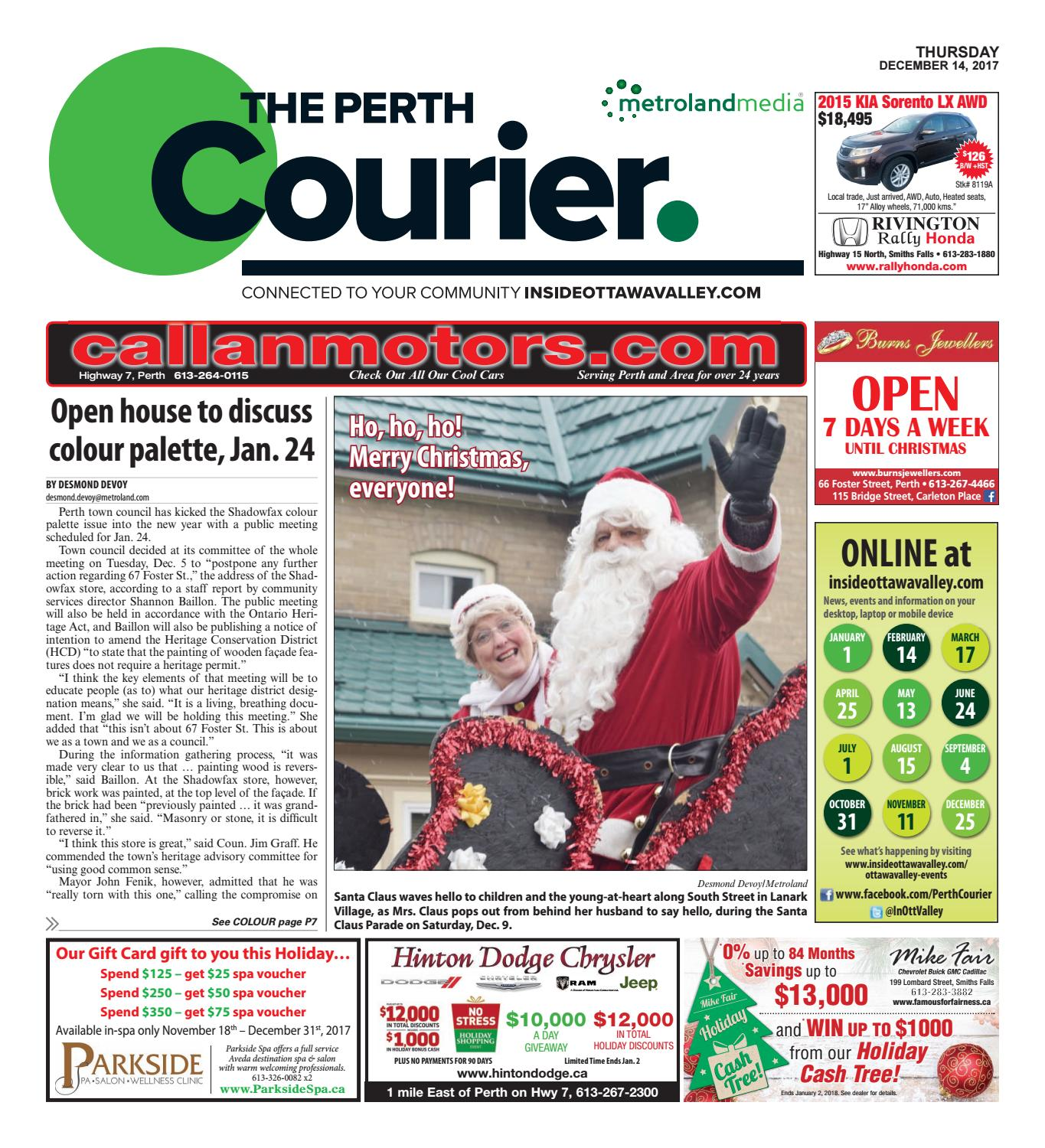 Perth121417 by metroland east the perth courier issuu fandeluxe Choice Image
