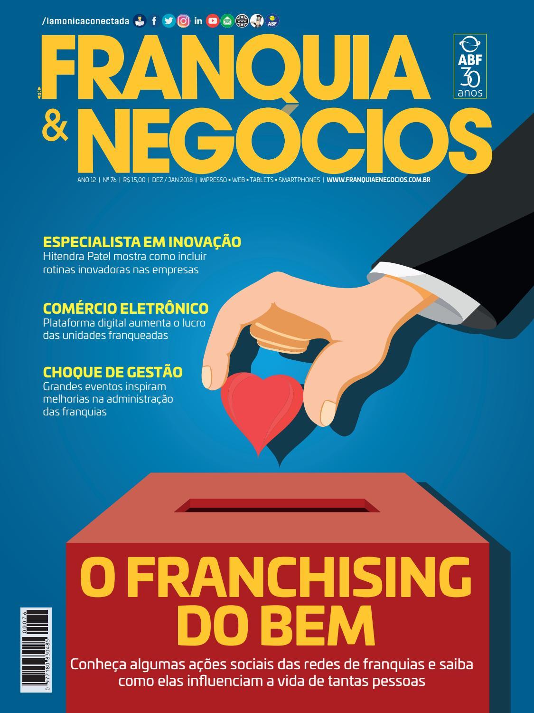 Revista Franquia   Negócios ABF nº 76 by Editora Lamonica Conectada - issuu 1638bbdec1