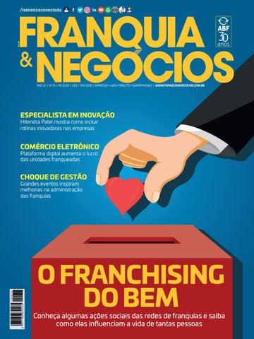 4dffc9670 Revista Franquia & Negócios ABF nº 76 by Editora Lamonica Conectada ...