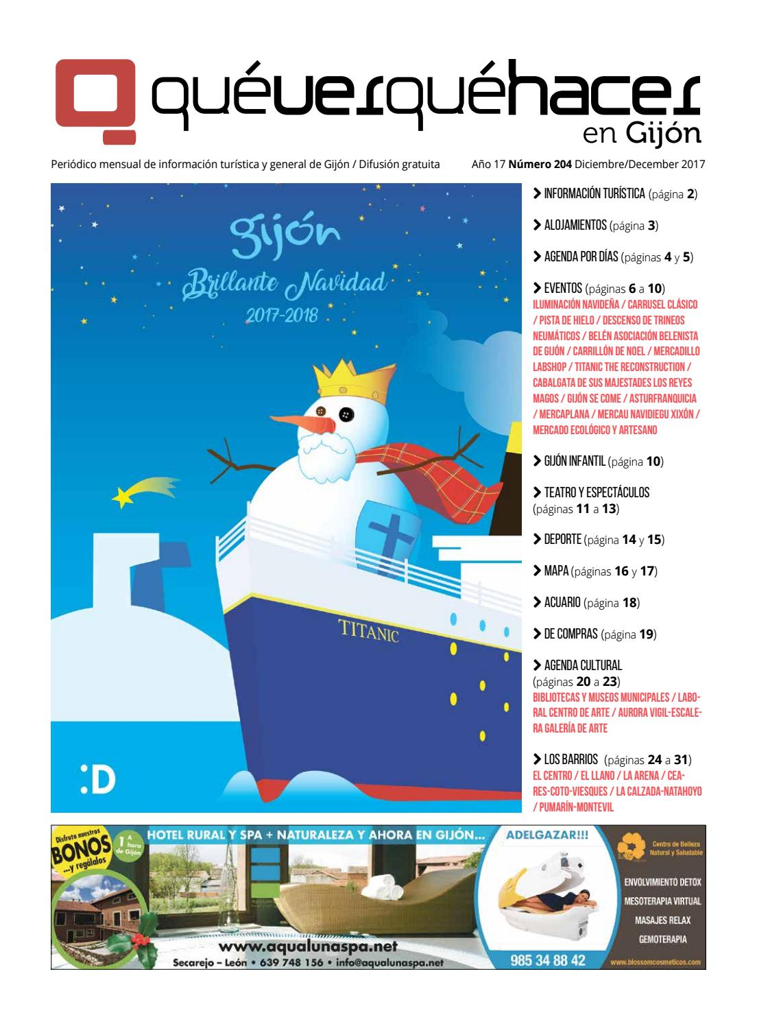 22cce3b970 Que ver que hacer en gijon diciembre 2017 by uve comunicacion - issuu
