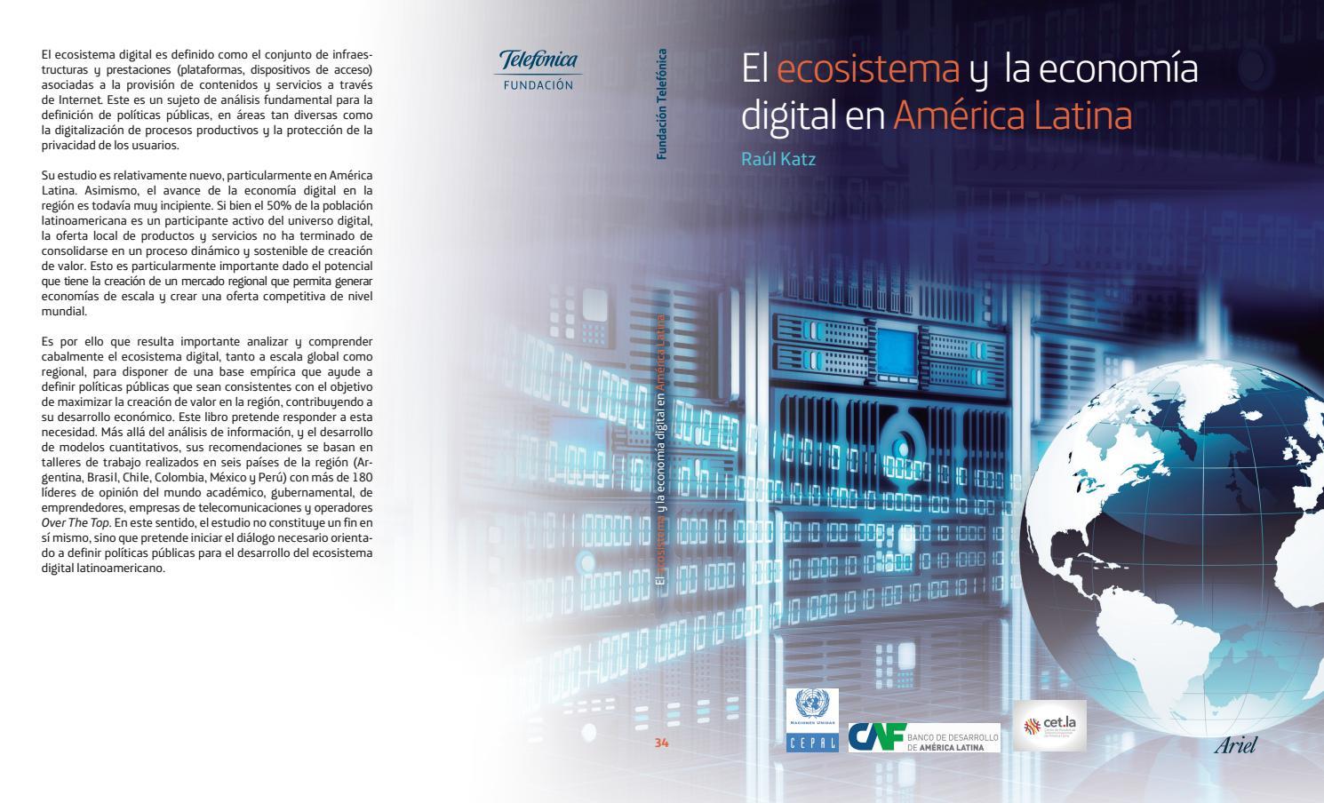 El ecosistema y la economía digital en américa latina by ASIET ...