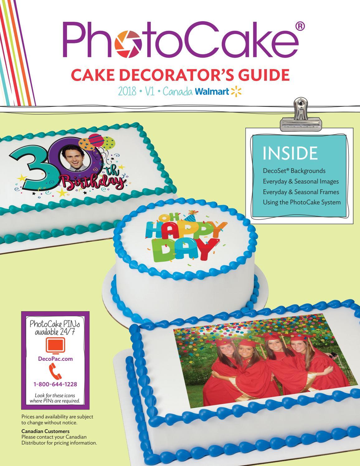 PhotoCakeR Update 36 Decorators Guide WM Canada