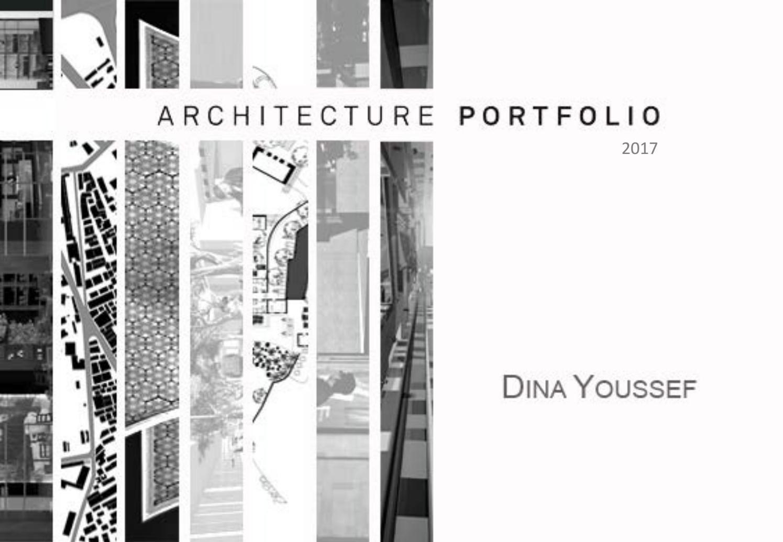 Architecture Amp Urban Design Portfolio By Dina Youssef Issuu