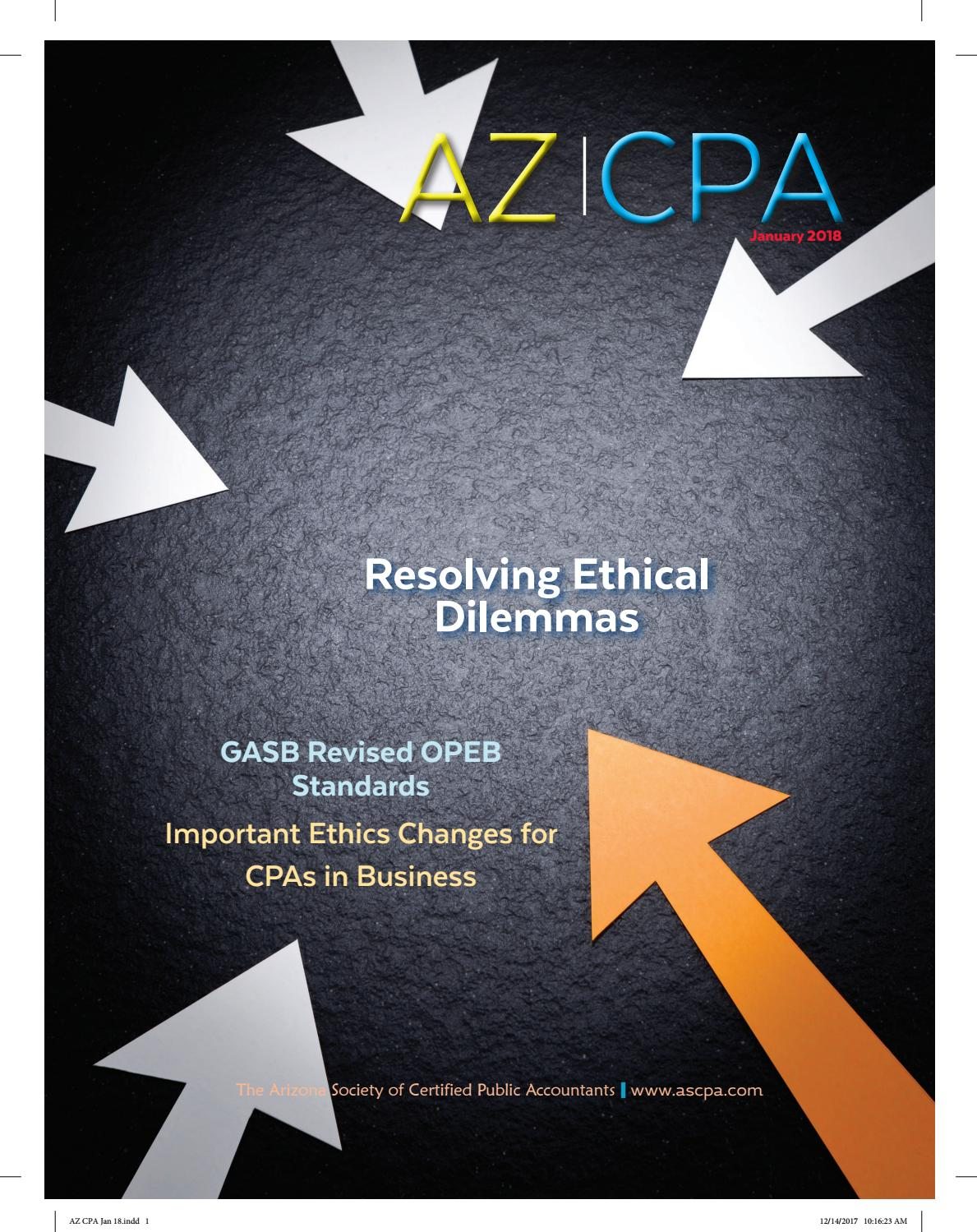 AZ CPA Jan  2018 by ASCPA - issuu