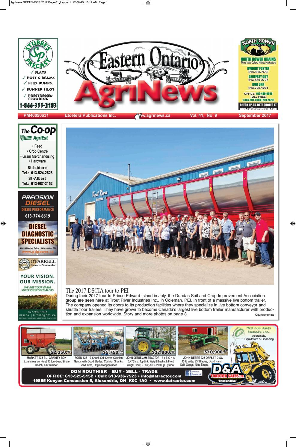 Agrinews September 2017 by Robin Morris issuu