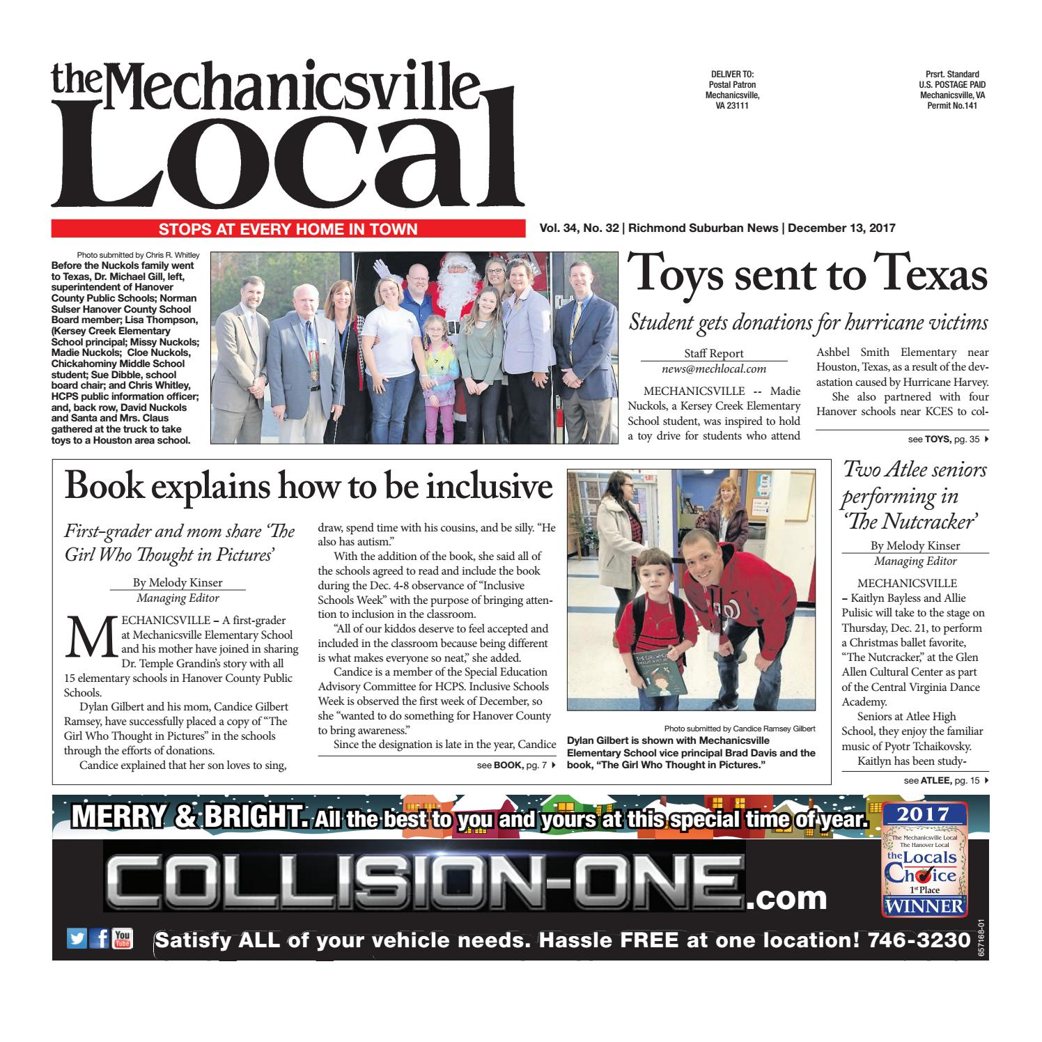 12/13/17 by The Mechanicsville Local - issuu