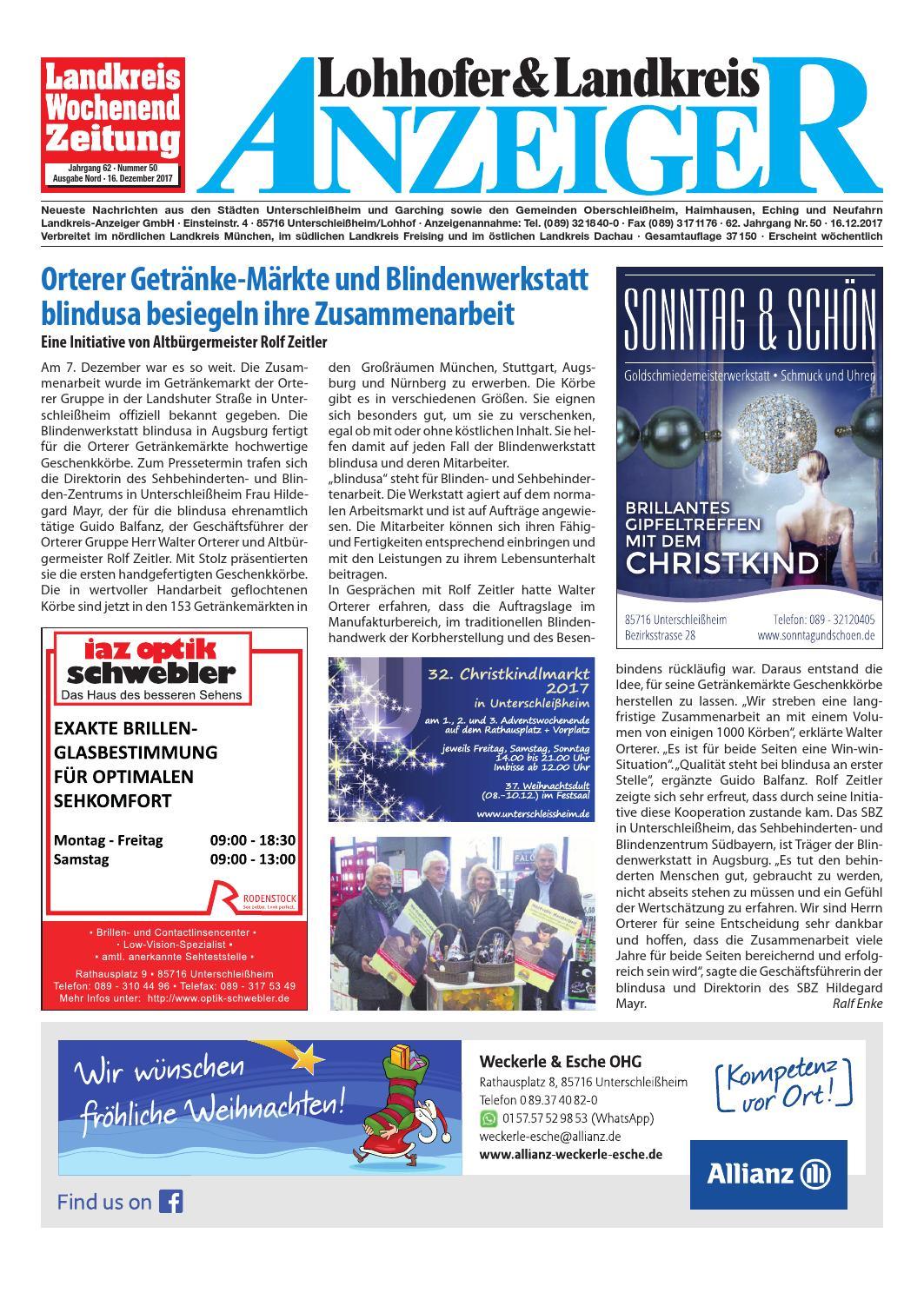 Lohhofer & Landkreis Anzeiger 5017 by Zimmermann GmbH Druck & Verlag ...