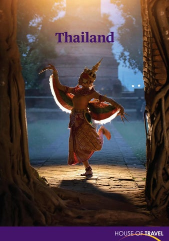 Thailand Brochure 2018 by House of Travel - issuu