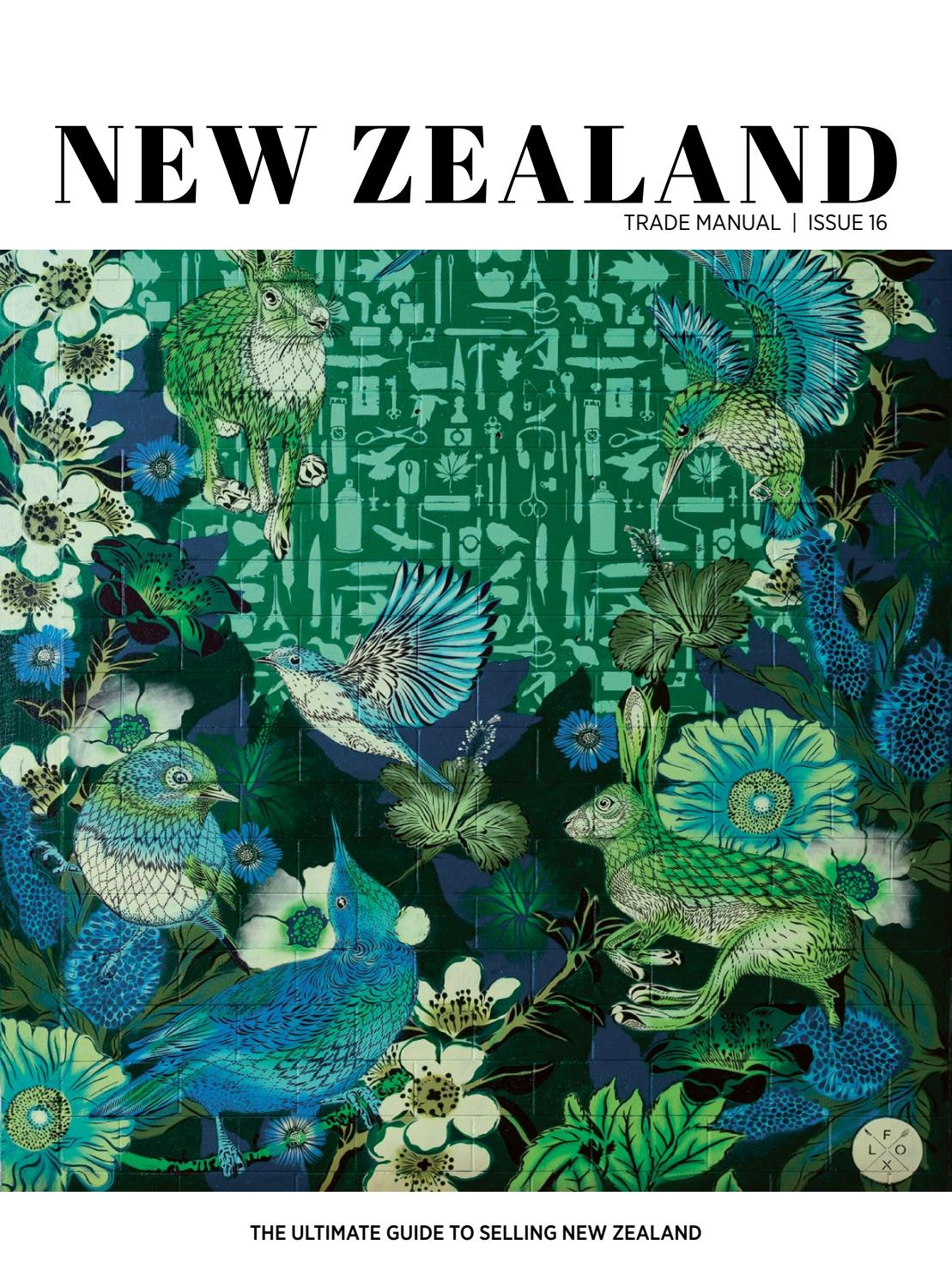 New Zealand Trade Manual - Issue 16 by SOMO Creative - issuu