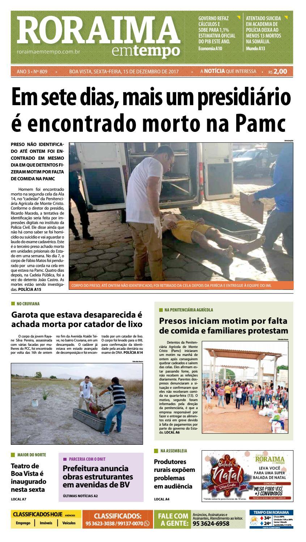 Jornal roraima em tempo – edição 809 by RoraimaEmTempo - issuu 1e82c2b7613e6